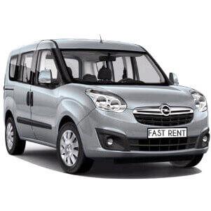 Affitto auto Opel Combo 5 posti Noleggio